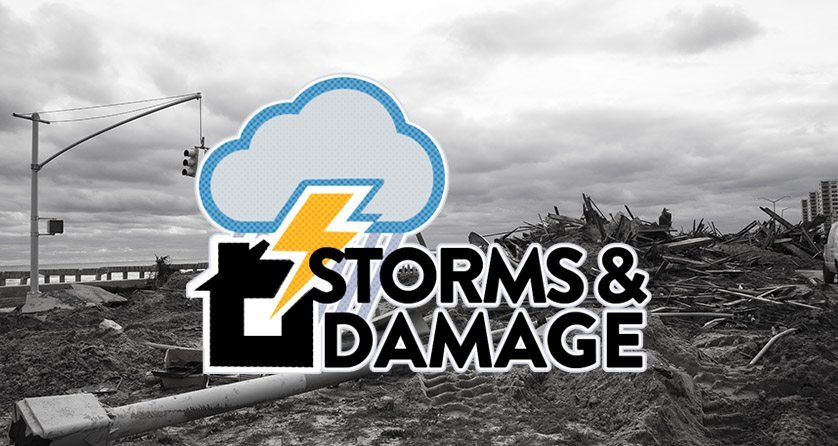 storms damage