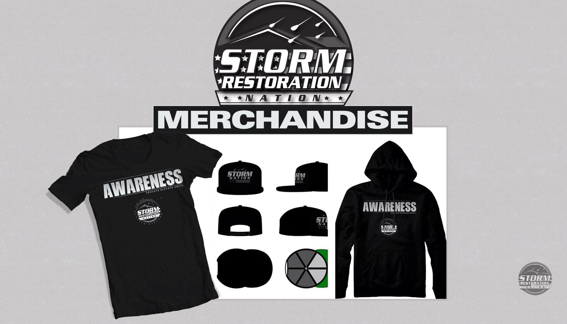 merchandise Storm Restoration Nation